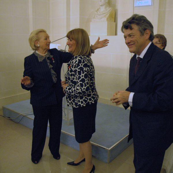 Paulette, Alice et Jean-Louis BORLOO